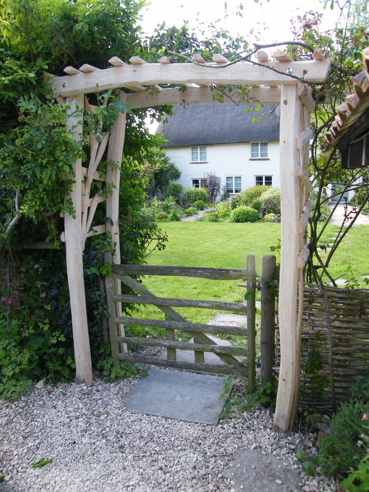Handcrafted Sweet Chestnut Garden Arches
